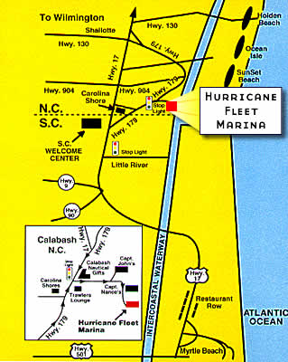 Directions Hurricane Fishing Fleet Calabash Nchurricane Fishing
